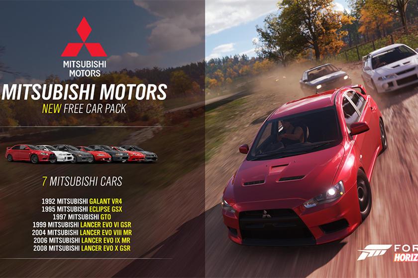 Mitsubishi Finally Returns To Forza Horizon 4 | CarBuzz
