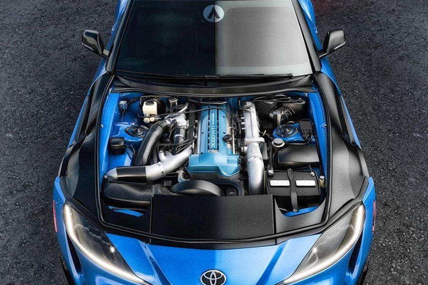 2020 Toyota Supra Owners Will Soon Get A 2jz Engine Swap Kit Carbuzz