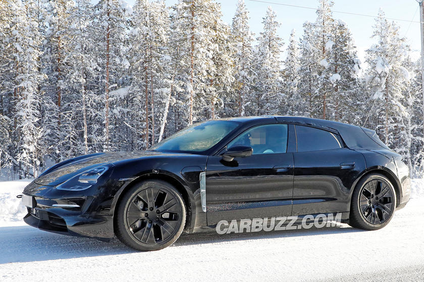 photo of 2021 Porsche Taycan Cross Turismo First Look Review: The Dirt-Loving Electro Wagon image