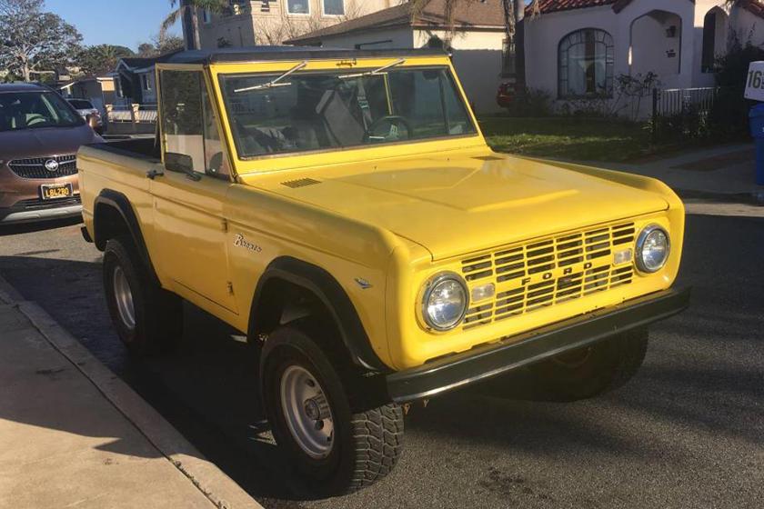 Weekly Craigslist Hidden Treasure 1968 Ford Bronco Carbuzz