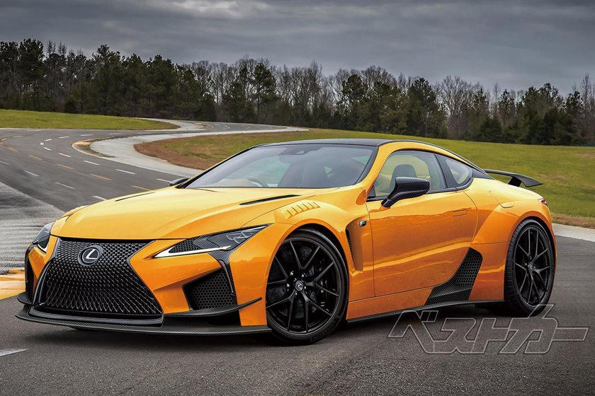 Lexus All But Confirms An LC F Is Coming | CarBuzz