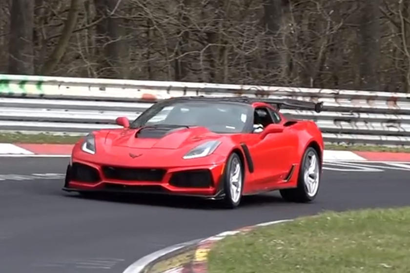 How Fast Is The Corvette ZR1's Nurburgring Lap Time? | CarBuzz