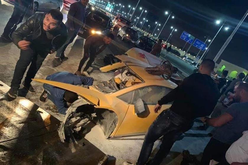 How Did Anyone Survive This Shocking Lamborghini Huracan Crash