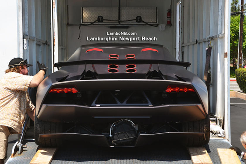Sesto Elemento Arrives At Lambo Newport Beach Carbuzz