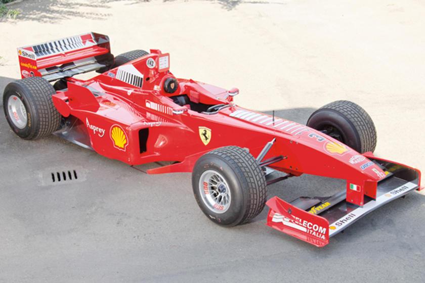 Schumacher S 1998 Ferrari F300 Up For Auction Carbuzz