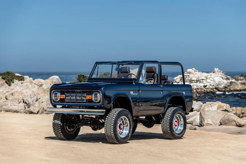 Stunning One-Off 1974 Ford Bronco Has The Perfect Engine