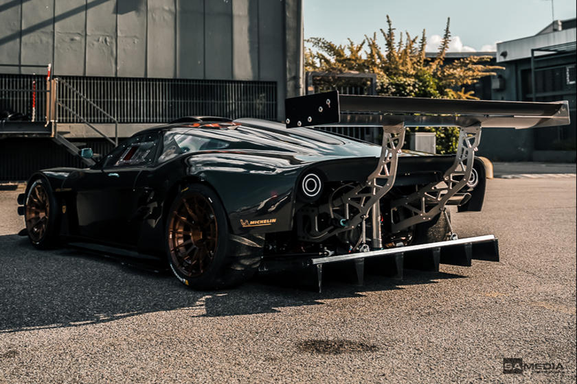 This Is Italy's Latest Carbon-Fiber Track Toy
