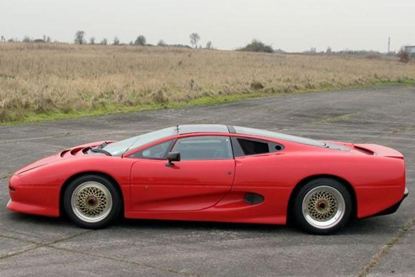 1990 jaguar xj220 prototype for sale - carbuzz