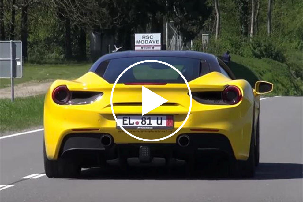 Even With An Akrapovic Exhaust The Ferrari 488 Doesn\u0027t Sound