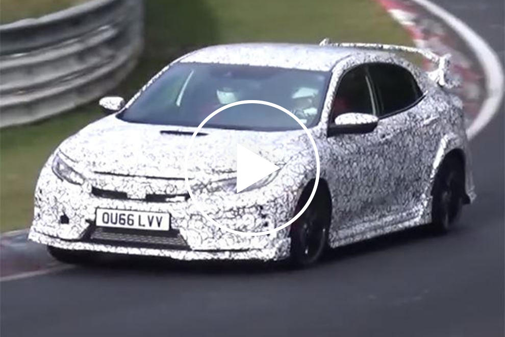 The Honda Civic Type R Is Out To Reclaim Its Nurburgring
