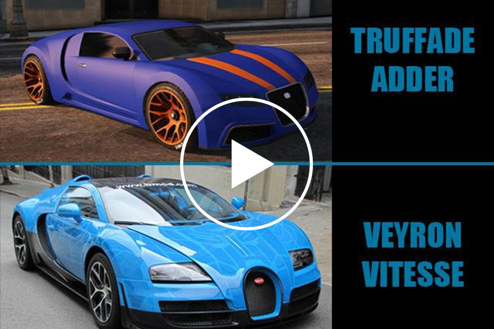 7 Amazing Grand Theft Auto Cars You Can Drive In Real Life
