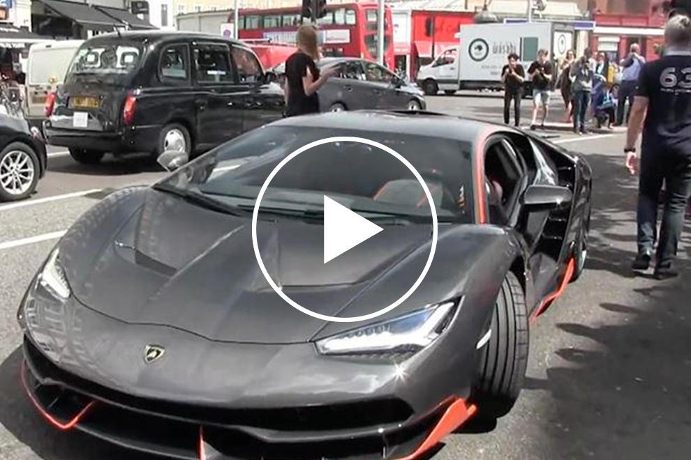 Delivery Of Uk S First Lamborghini Centenario Causes Pandemonium In