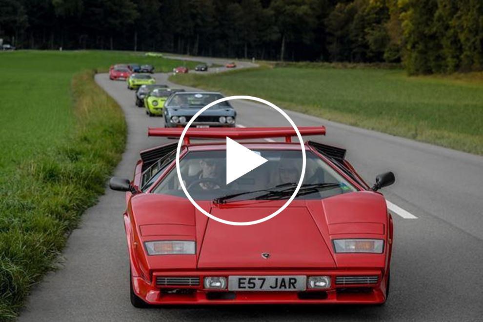 A European Road Trip In A Lamborghini Countach Is Heaven Carbuzz