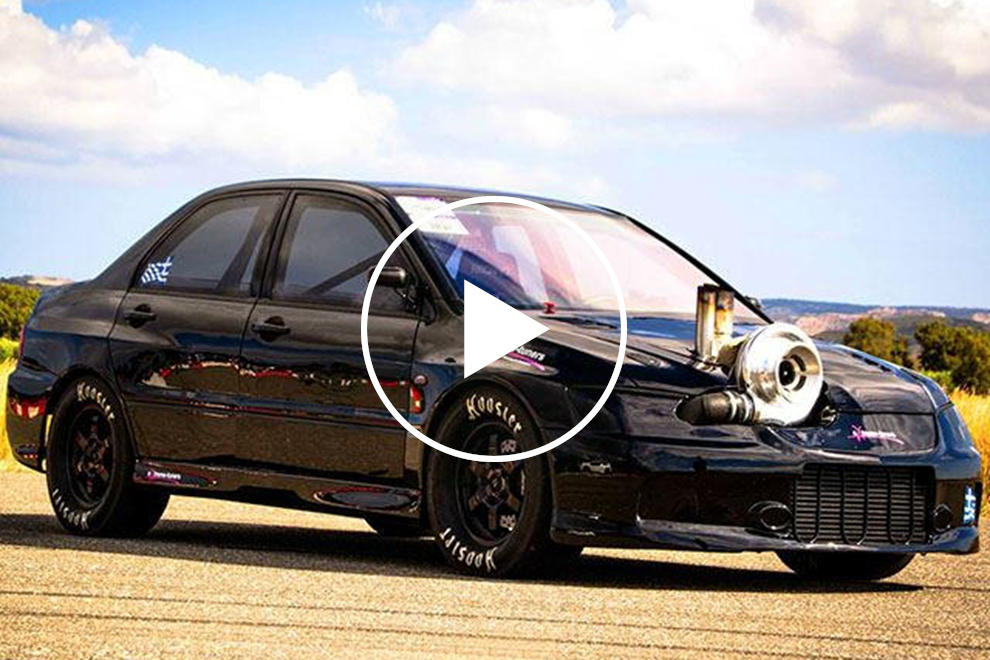 Meet The World's Fastest Mitsubishi EVO With 1,700 Horsepower | CarBuzz