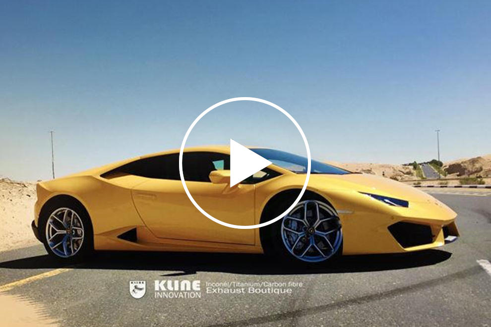This Lamborghini Huracan Sounds Better Than Any Ferrari Carbuzz