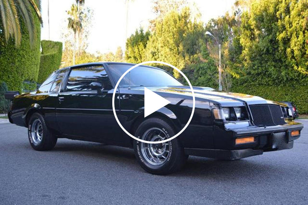 2017 Buick Grand National >> This 1987 Buick Grand National Once Belonged To David Spade