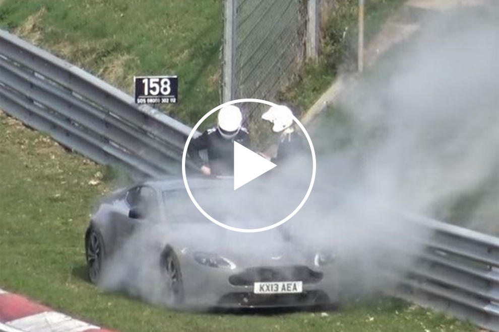 Exploding Coolant Is Becoming A Problem At The Nurburgring Carbuzz