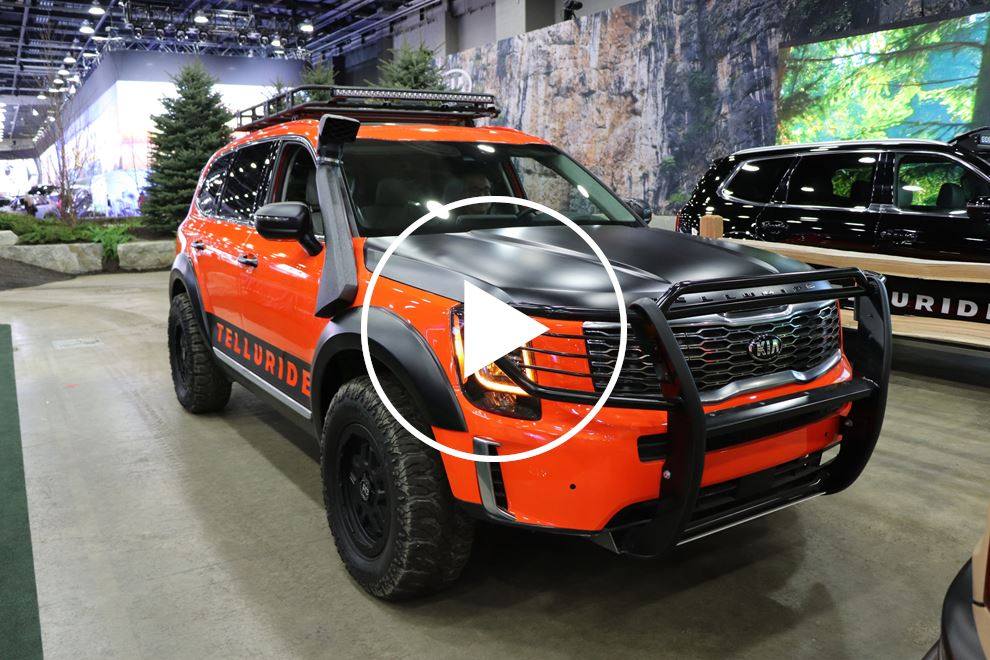 An Offroad Kia Telluride Is In The Cards Carbuzz