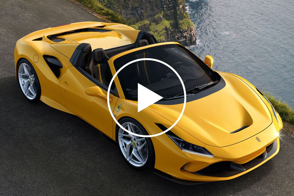 This Is The All-New Ferrari F8 Spider