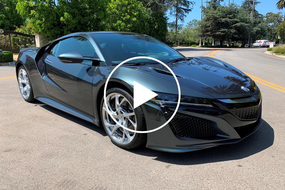 Jerry Seinfeld's Gifted Acura NSX Is For Sale