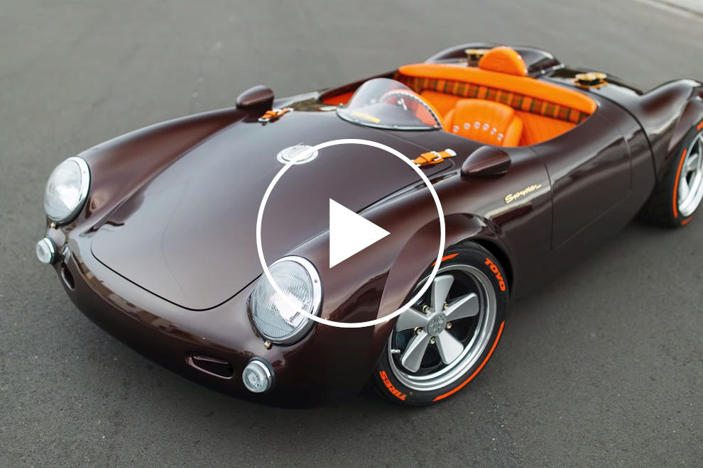 This Center Seat Porsche Is Unlike Any Other