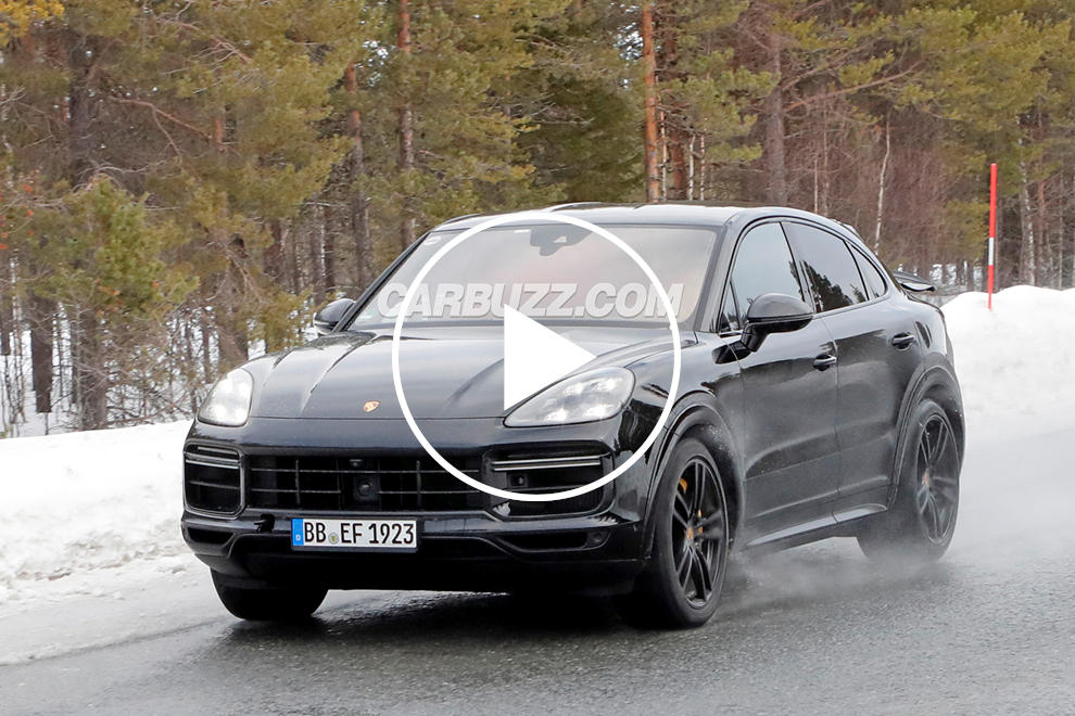 Listen To The Awesome Sound Of The Hardcore Porsche Cayenne Coupe GT