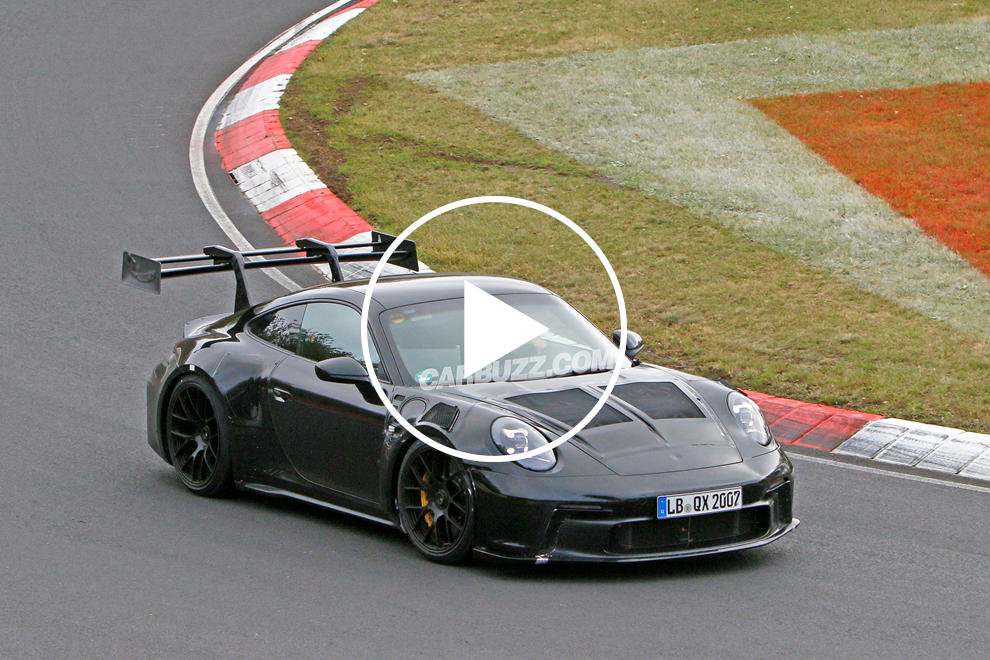 photo of New Porsche 911 GT3 RS Sounds Glorious Hammering Around The Ring image
