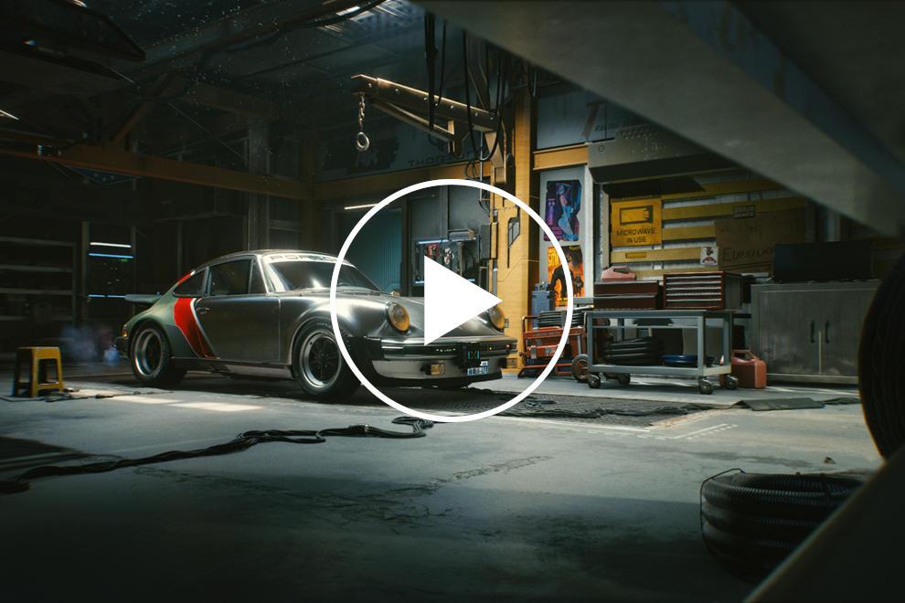 photo of Porsche Helped Design Dystopian 911 For Cyberpunk 2077 image