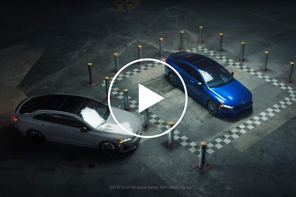 Watch Kia's Latest Crazy Stunt With The K5