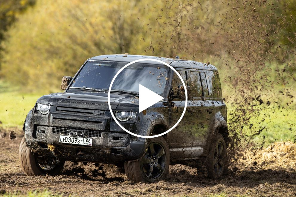 We Drove The Land Rover Defender From James Bond's 'No ...