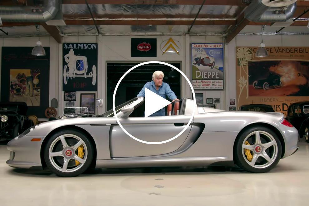 Jay Leno's Porsche Carrera GT Sounds Incredible