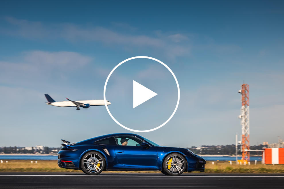 Watch The Porsche 911 Turbo S Hit 186 MPH On Airport Runway