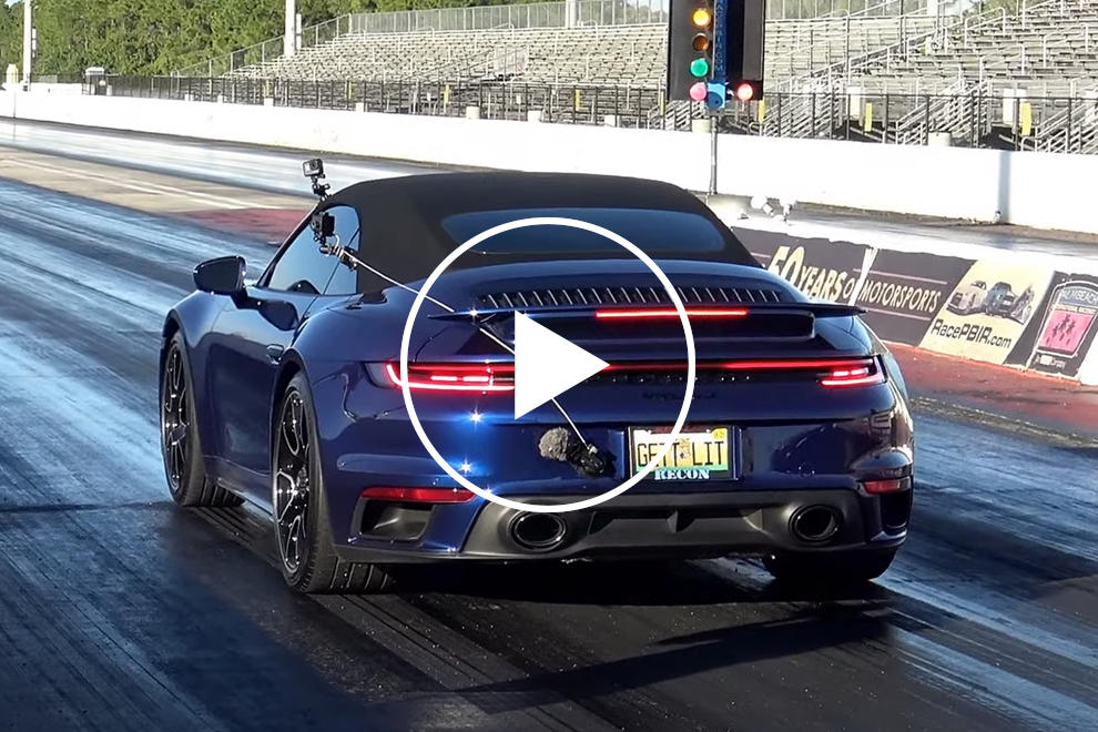 photo of Is The Porsche 911 Turbo S The Future Of Drag Racing? image
