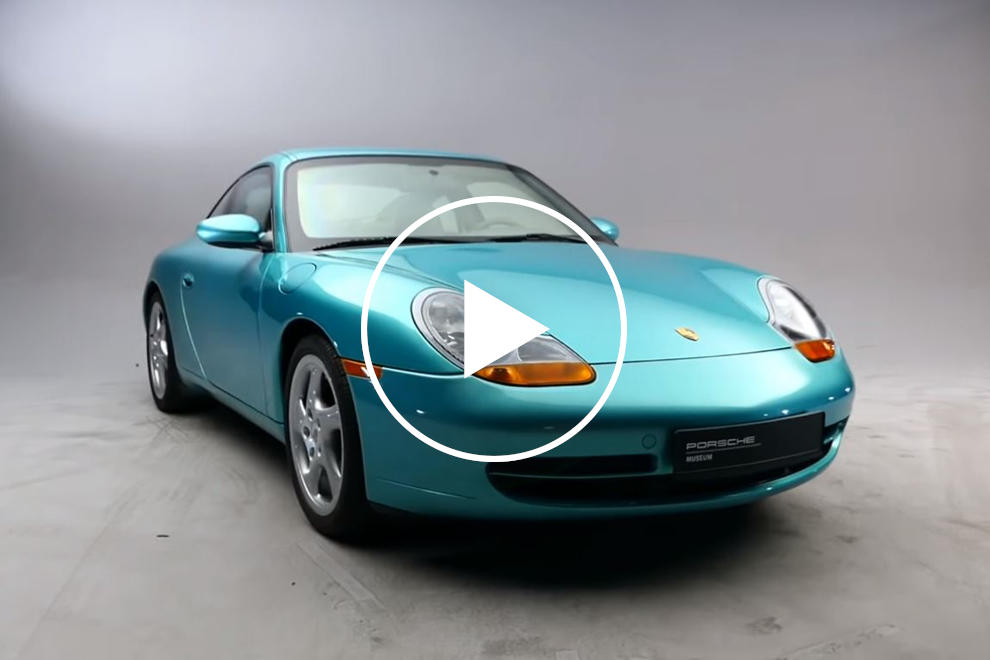 This 6,000-Pound Porsche 911 Is Literally Bulletproof