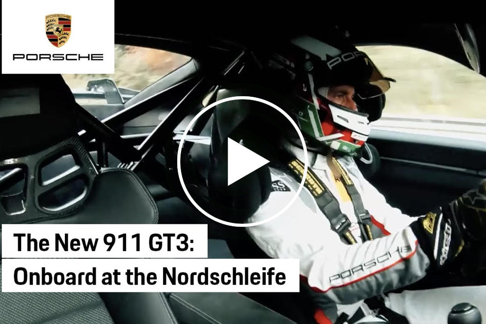 photo of Watch The New 911 GT3 Let Rip Around The Ring image