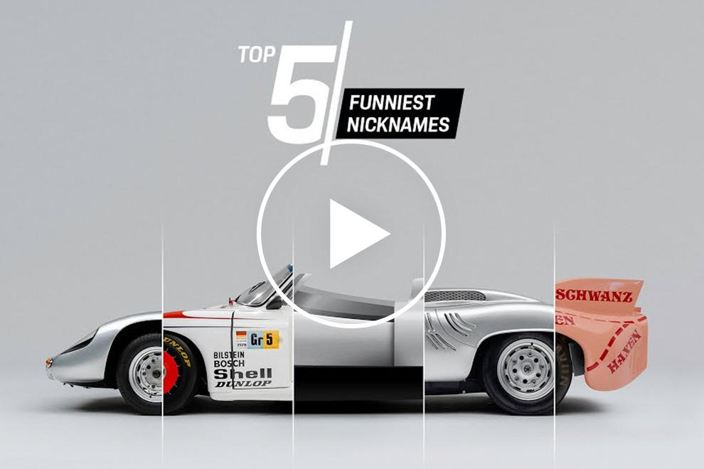 photo of 5 Porsches With The Funniest Nicknames In The Company's History image