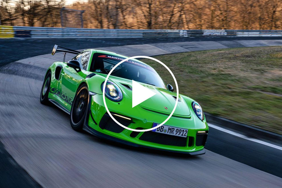 Watch The Porsche 911 GT3 RS MR Set A Sub 6:50 Time At The Ring