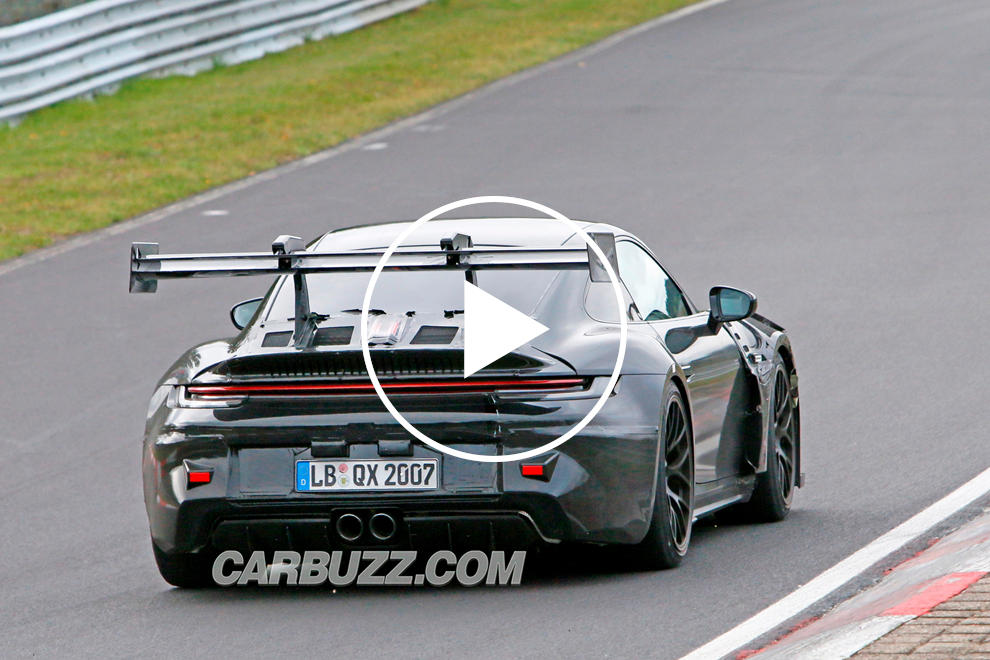 photo of See The Porsche 911 GT3 RS Active Wing In Action image