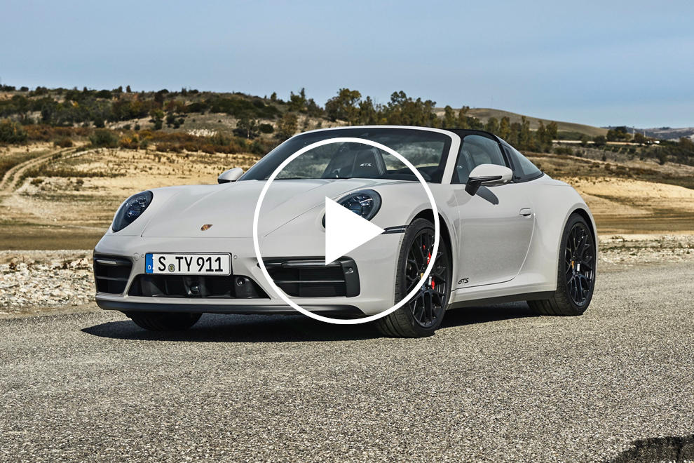 2022 Porsche 911 GTS Arrives With 473 HP And Less Weight