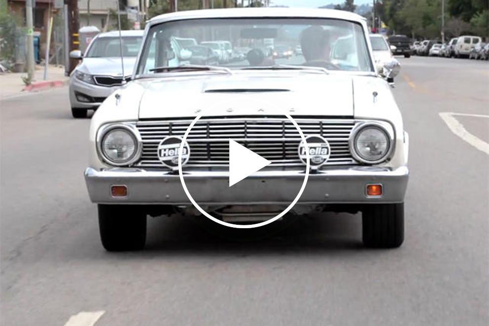 Leno FInally Gets his '63 Ford Falcon | CarBuzz