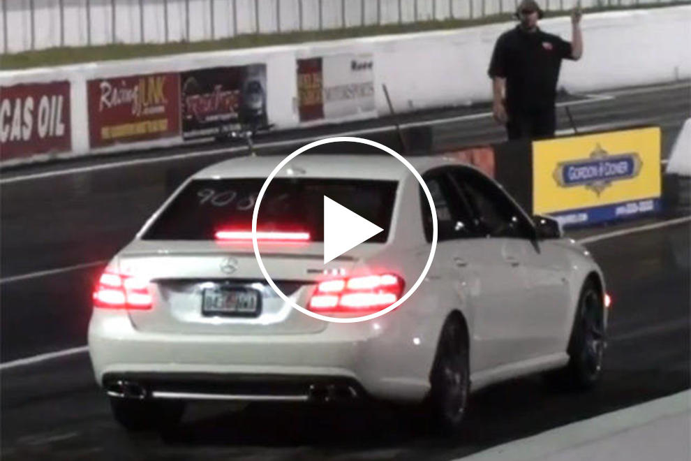 Mercedes-Benz E63 AMG by RENNtech Devours the Quarter-Mile | CarBuzz