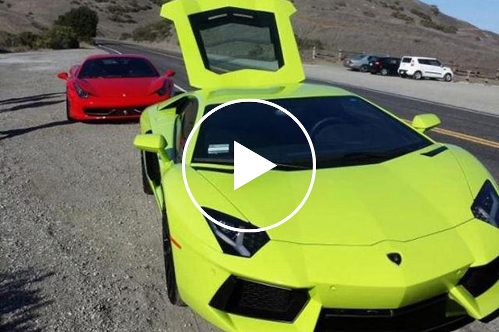 17 Year Old Flips Rare Verde Scandal Aventador Onto Roof Carbuzz