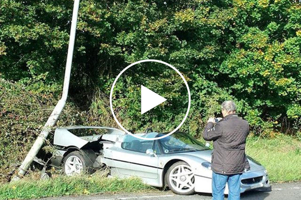 1m Ferrari F50 Involved In One Of Uk S Most Expensive Accidents Carbuzz