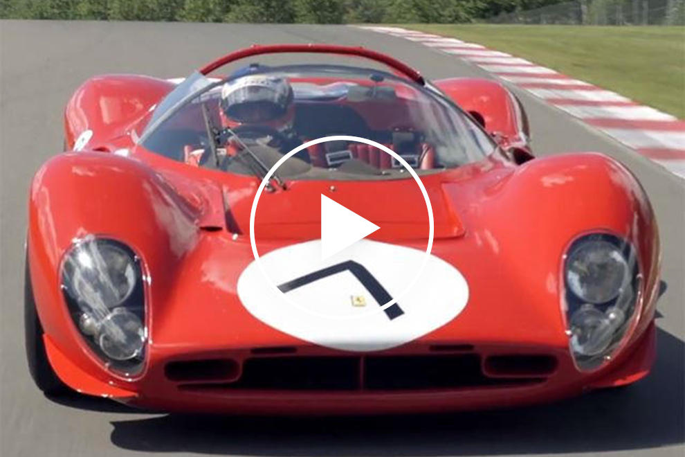 This Is The Only Original Ferrari 330 P4 In The World Carbuzz