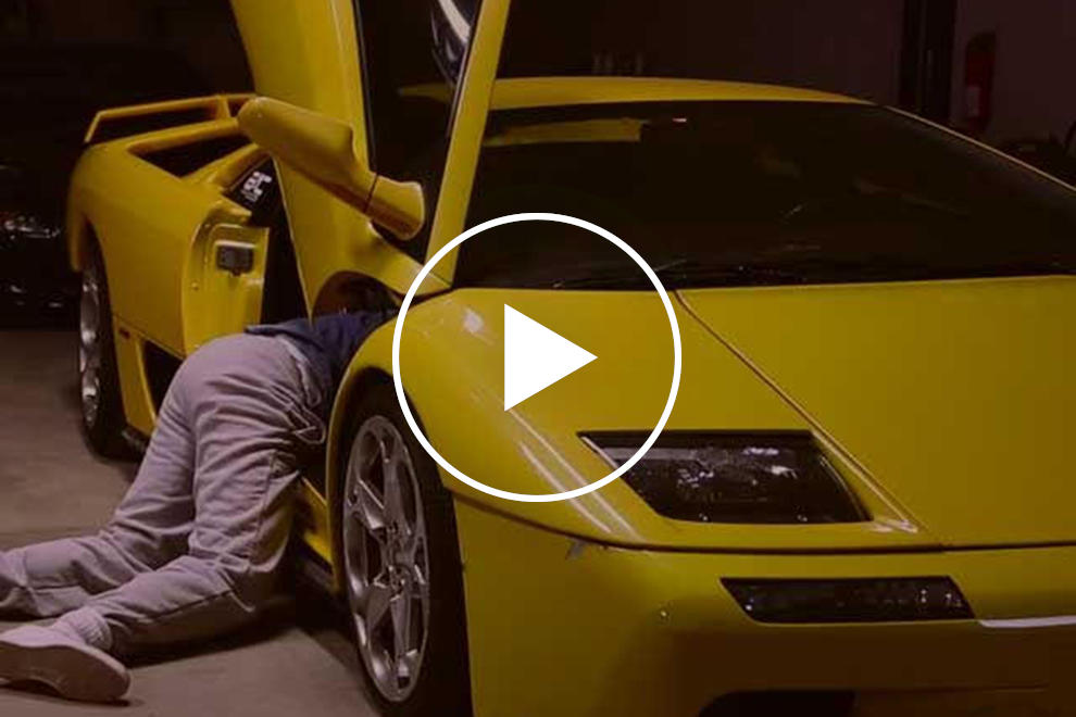 Lamborghini Diablo Owner Tells The Heartbreaking Story Of How It Was