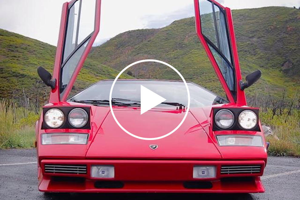 Check Out This Awesome Tribute To Supercars With Pop Up Headlights