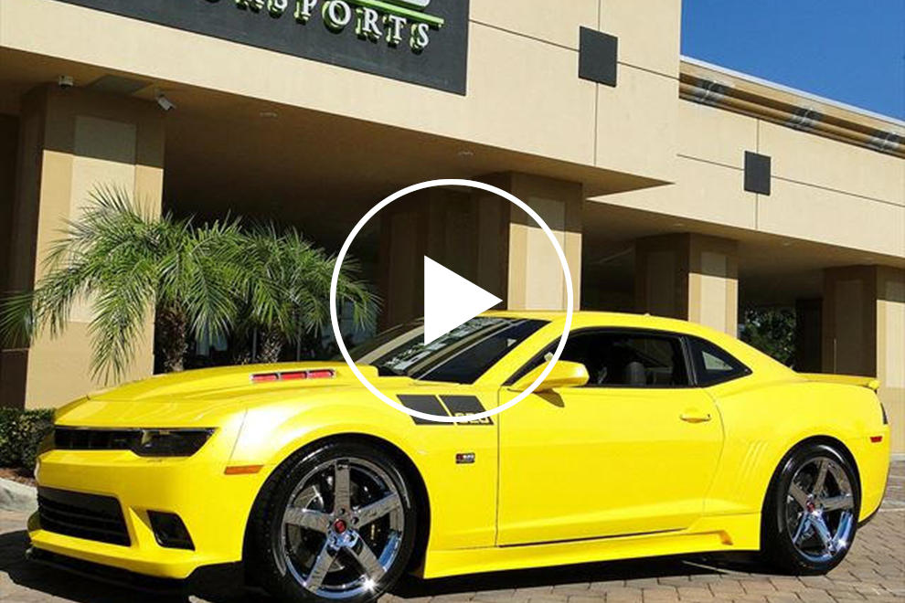 Check Out This $101,000 Chevy Camaro Saleen 620 Black Label | CarBuzz