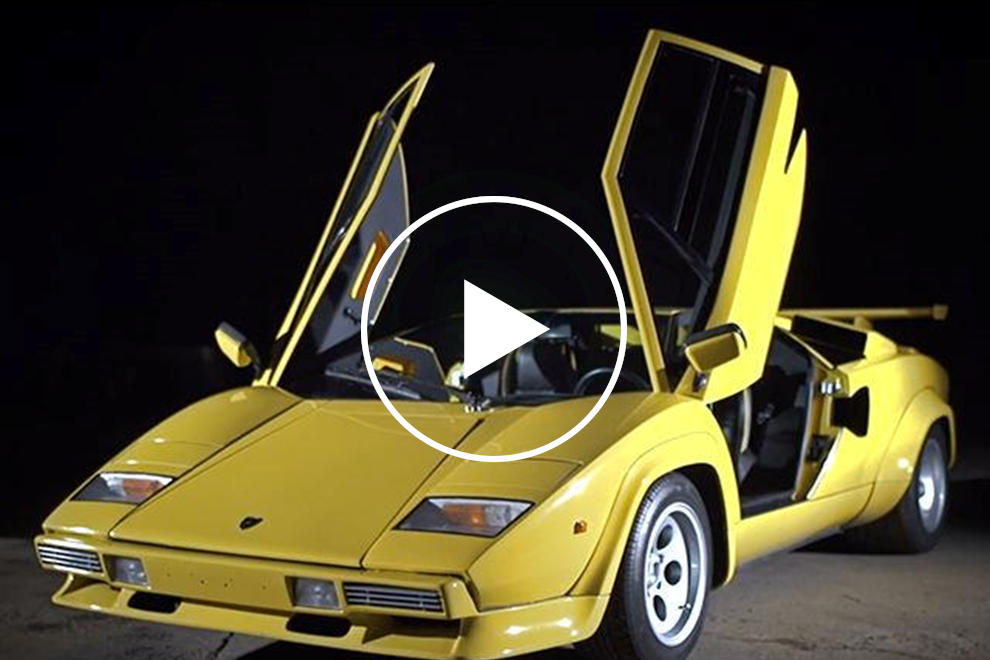 This Yellow Lamborghini Countach Makes Us Long For The 80s Carbuzz