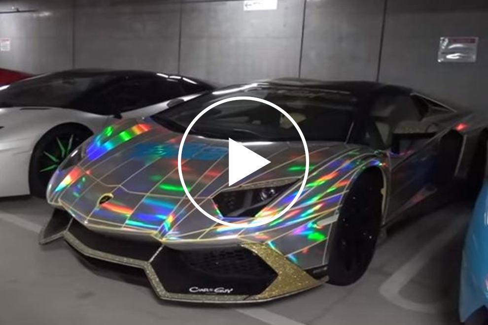 Take A Tour Through Tokyo\u0027s Craziest Lamborghini Garage