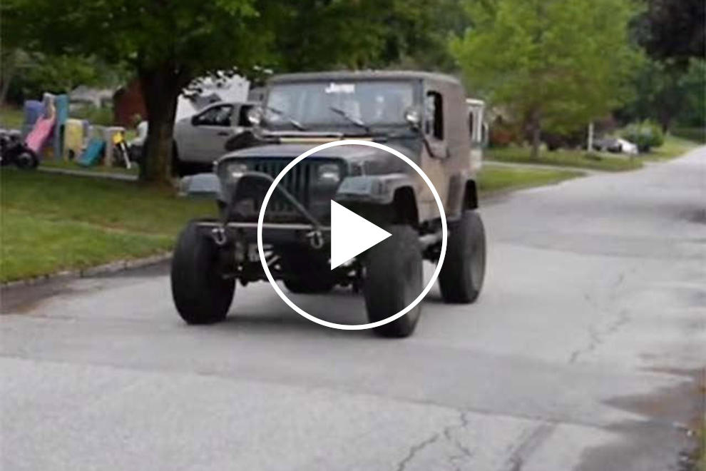 This V8 Wrangler Is The Ultimate Frankenstein Jeep | CarBuzz
